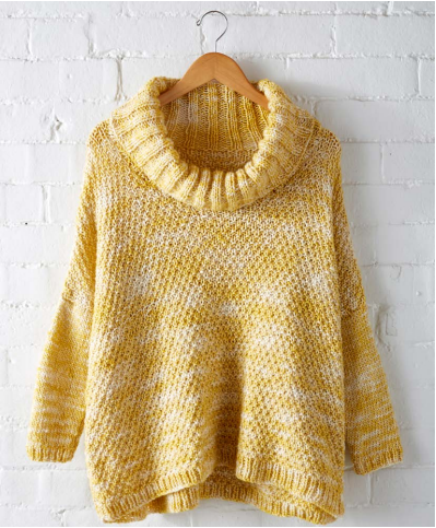 Lemon Curry Ease Pullover