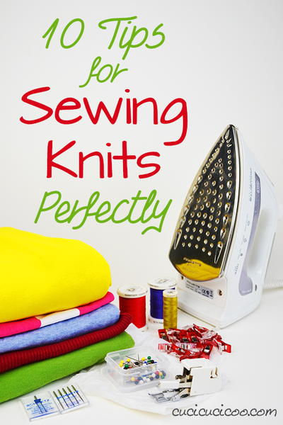 10 Tips to Sewing Knits Perfectly _1