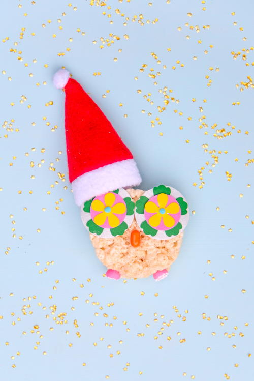 Holiday Owl Rice Krispie Treats Recipe