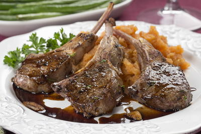 Balsamic Grilled Lamb Chops
