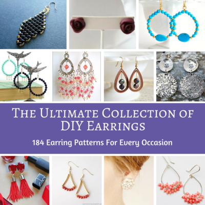 The Ultimate Collection of DIY Earrings 184 Earring Patterns for Every Occasion
