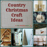 16 Country Christmas Craft Ideas