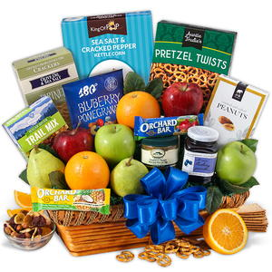 GourmetGiftBaskets.com Fruit and Healthy Snack Gift Basket Giveaway