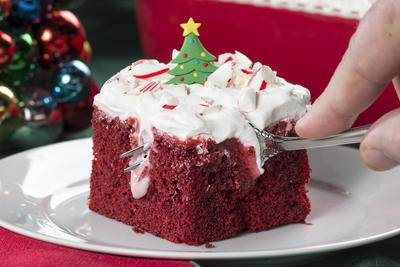 Holiday Poke Cake