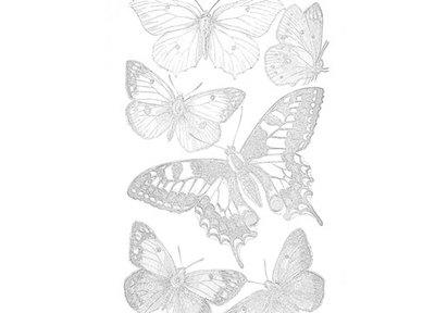 Bounty Butterflies Coloring Page