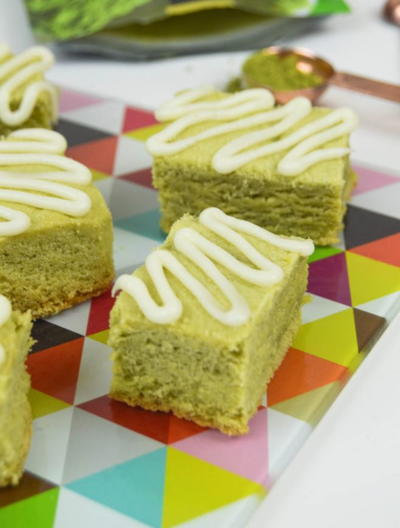 Starbucks Green Tea Latte Bars Copycat Recipe