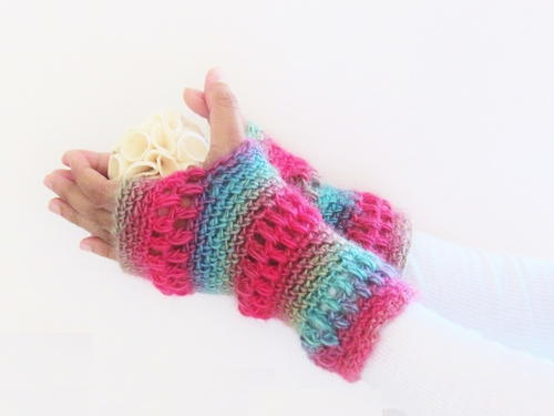 Boutique Fingerless Gloves