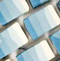 Ombre Winter Wonderland Homemade Soap Recipe