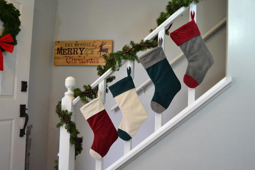 Cuffed Christmas Stocking Pattern