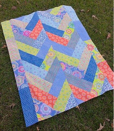 Bold Braid Quilt Tutorial