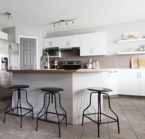 Diy shiplap island trim - Kitchen island decorative trim ...