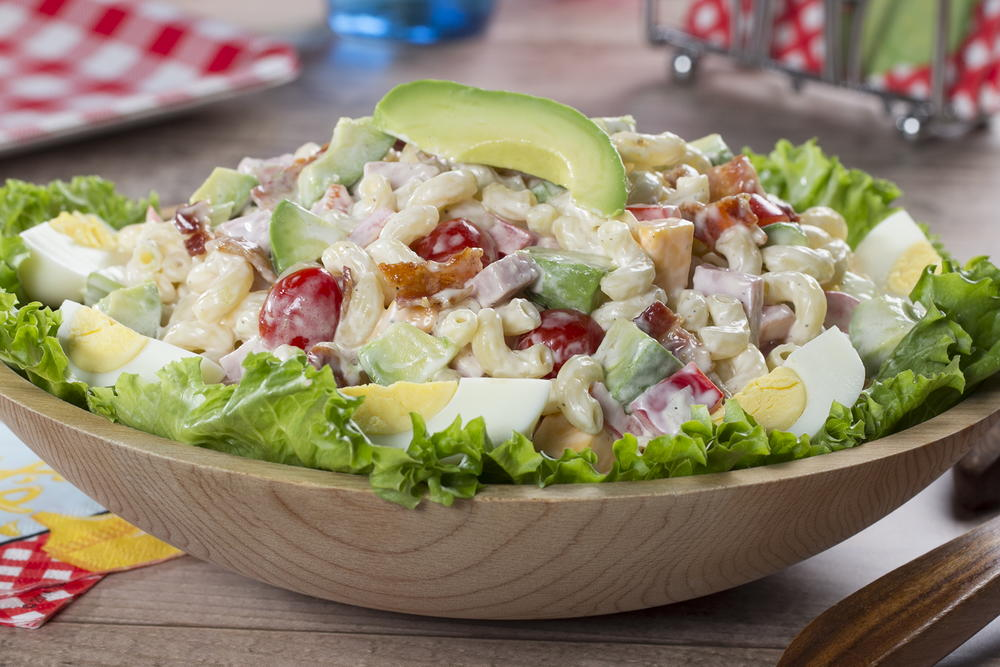 Cobb Macaroni Salad | MrFood.com