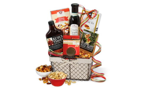 Barbecue Boss Gift Basket