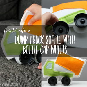 Dump Truck Softie Pattern