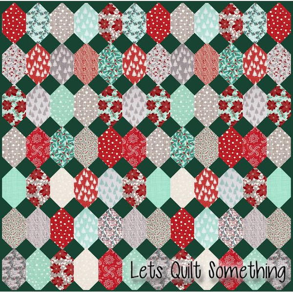 Winterberry Layer Cake Quilt Pattern