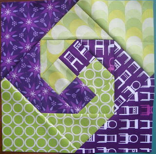 Snail Trail Quilt Block