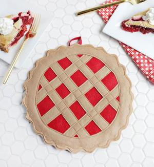 Cherry Pie Potholder Tutorial
