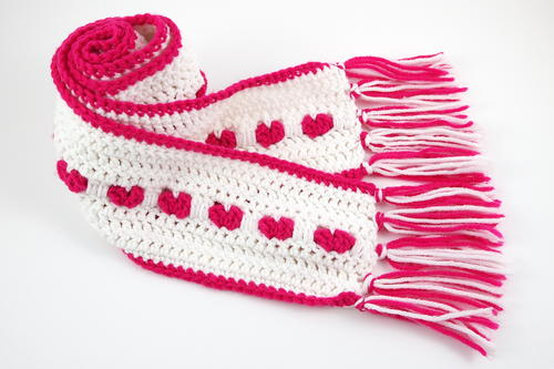 My Sweetheart Crochet Scarf