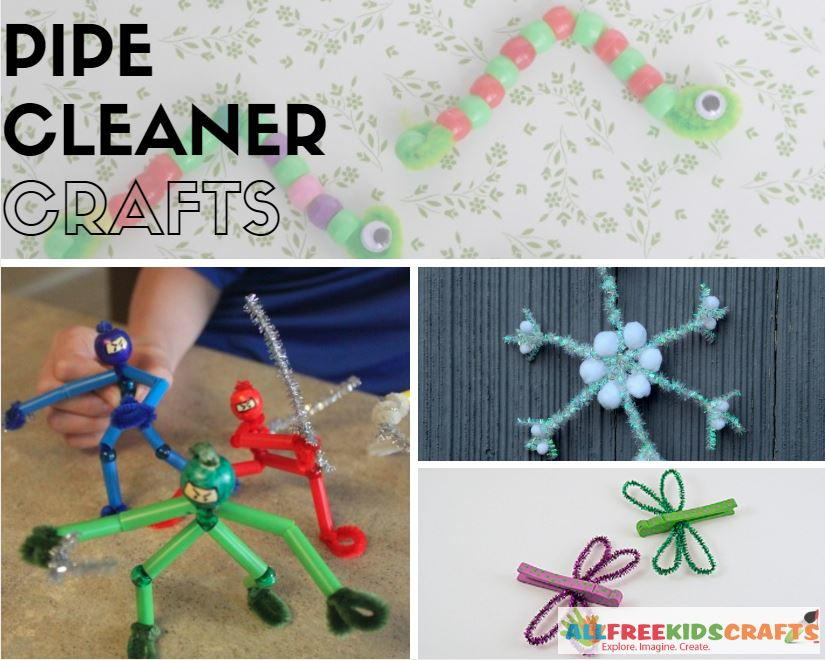 Kids Craft Ideas 37 Pipe Cleaner