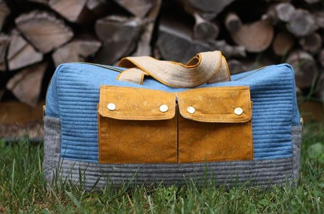 Weekender Cargo Duffle Bag Pattern Allfreesewing Com