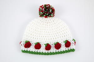 Little Berry Crochet Hat