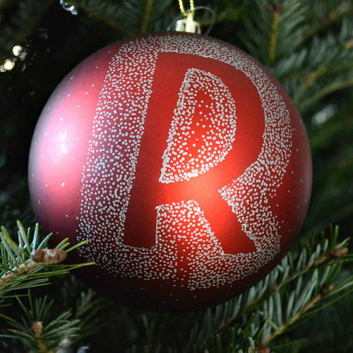 Personalized Christmas Ornament for $1