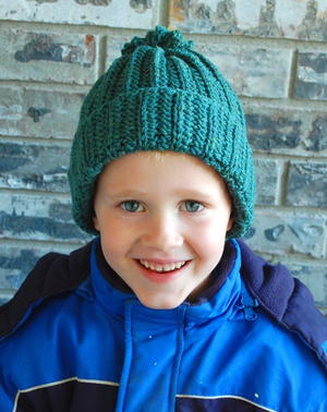 Classically Cute Crochet Beanie