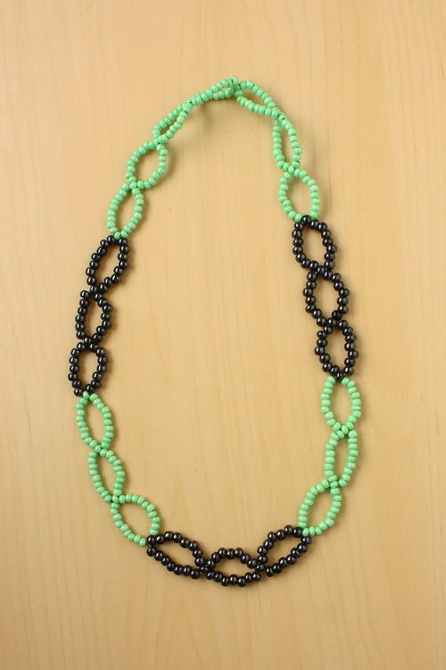 Bewitching Seed Bead Necklace