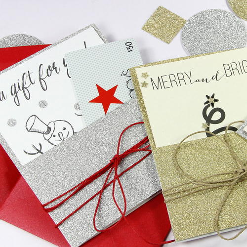 DIY Gift Card Holders and Printable Cards