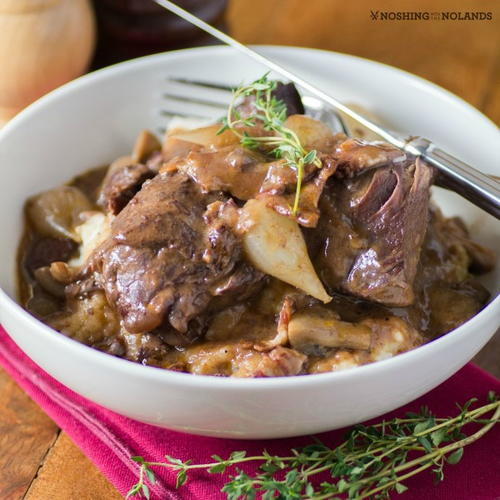 Coq au Vin (Chicken in Red Wine)