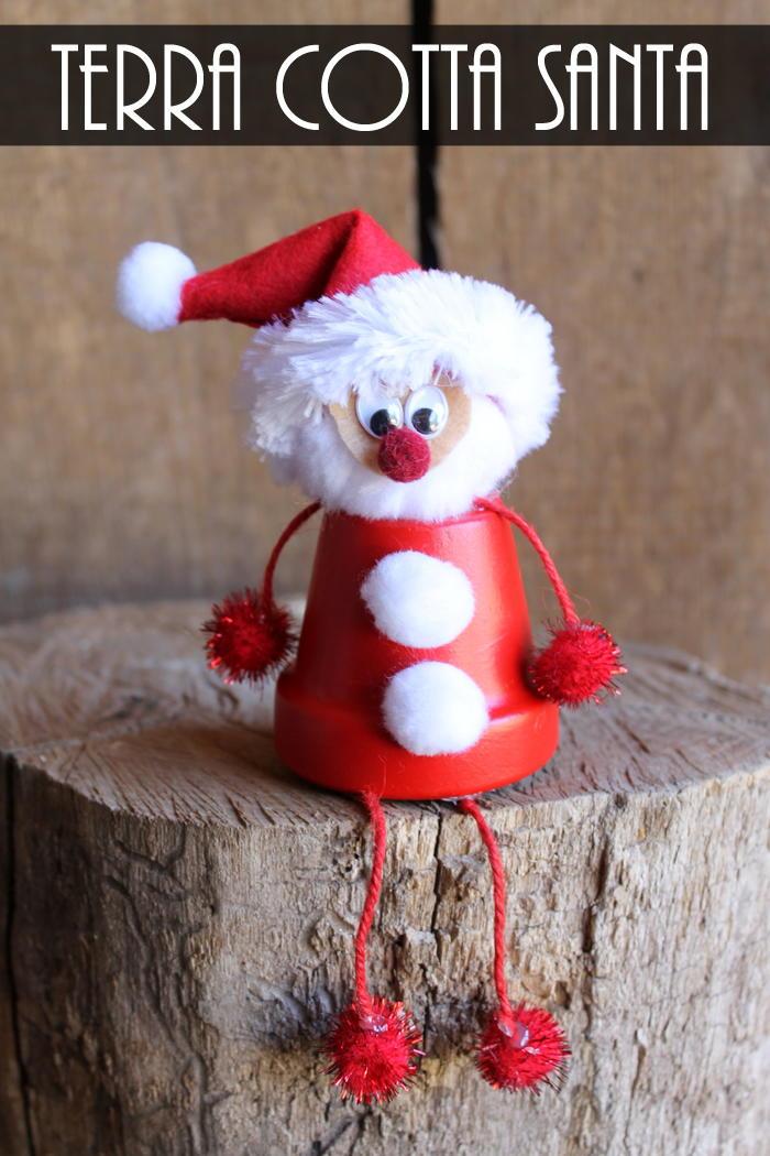 Terra Cotta Santa Craft Favecrafts Com