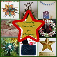 23 Stunning Star Crafts for Christmas