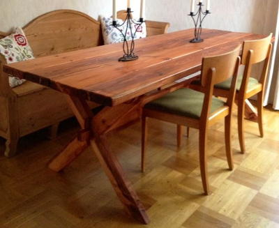 Rustic DIY Pallet Dining Table