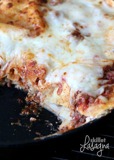 Family-Favorite Skillet Lasagna Recipe