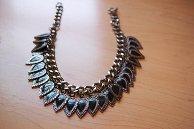 Truly Charming Statement Necklace
