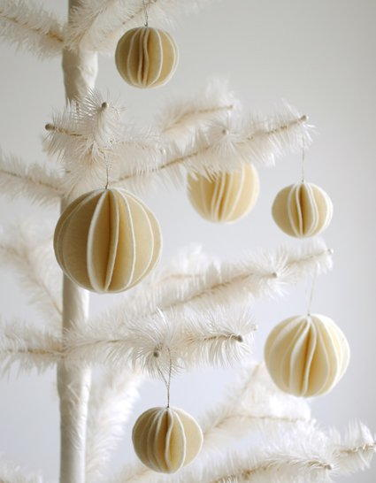 Elegant Snowball DIY Ornaments