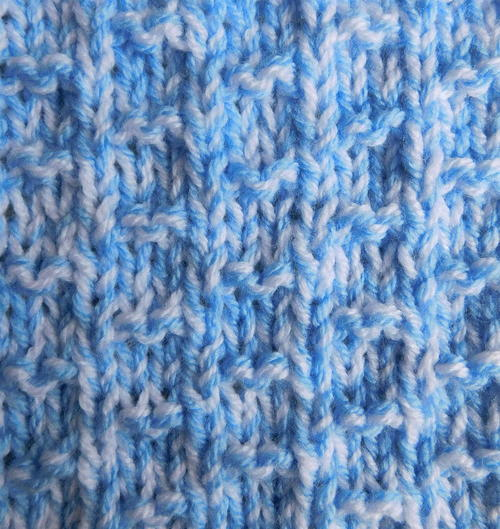 Nevis Chunky Baby Blanket