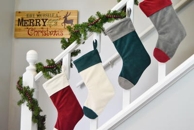 Cuffed Christmas Stocking