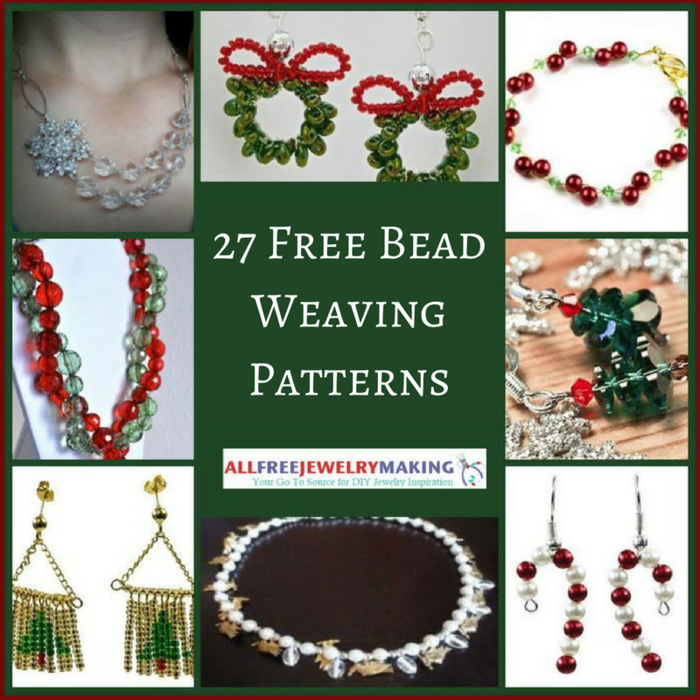 27 Free Beading Patterns for Christmas Jewelry