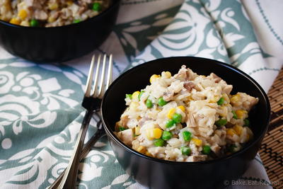 Creamy One Pot Turkey and Rice