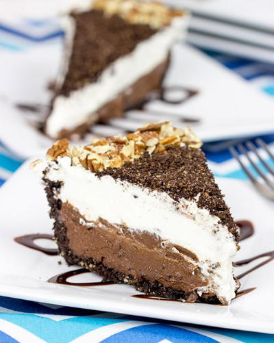 Mocha Mississippi Mud Pie