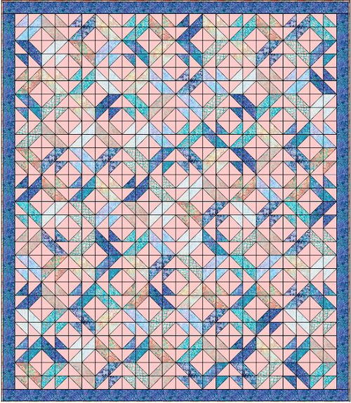 Ellas Dream Charm Pack Quilt Pattern