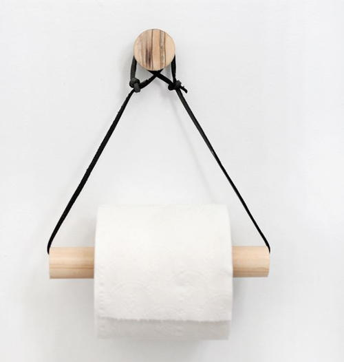 Adorable Hanging DIY Toilet Paper Holder
