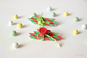 Christmas Elf DIY Brooch