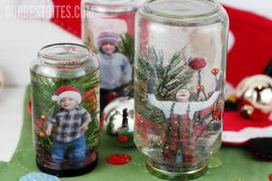 Holiday Snow Globe Winter Craft