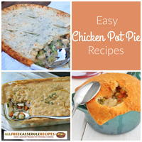 Comforting Casseroles: 10 Easy Chicken Pot Pie Recipes