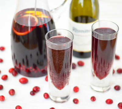 Pomegranate Ginger Sangria