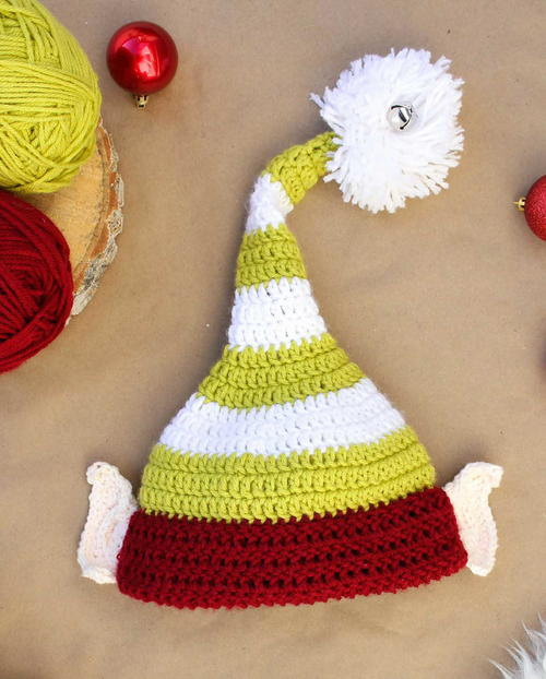 Santa's Little Helper Elf Hat