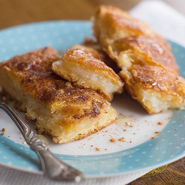 Cinnamon Cream Cheese Crescent Pastries