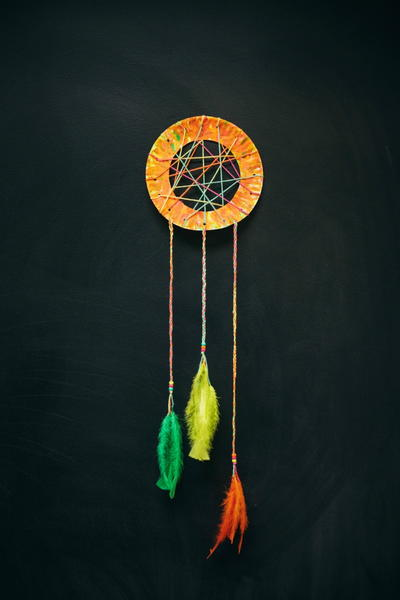 Dollar Store DIY Dream Catcher